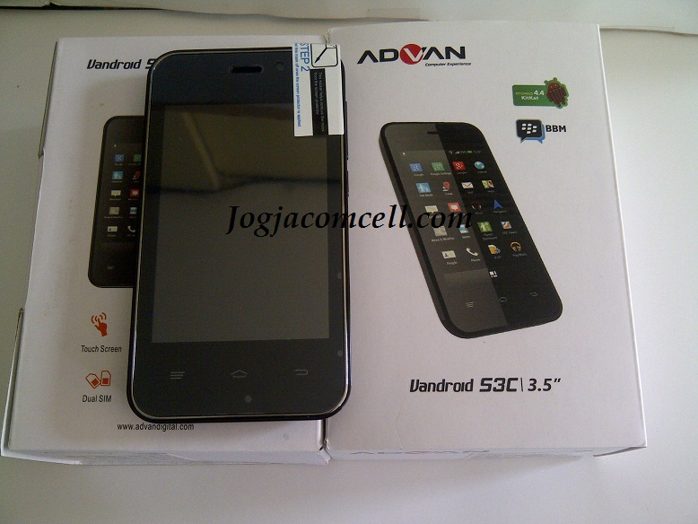 Advan Vandroid S3C Kitkat JogjaComCell