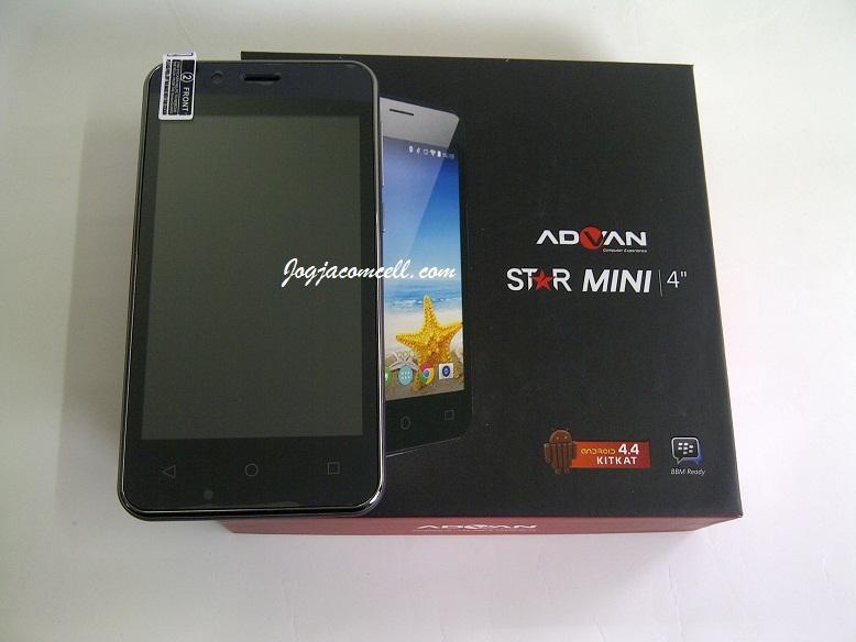 Advan Star Mini S4K KITKAT JogjaComCell