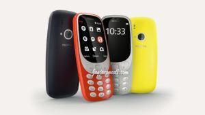 Nokia 3310 Tahun 2017 Terbaru Dual SIM GSM