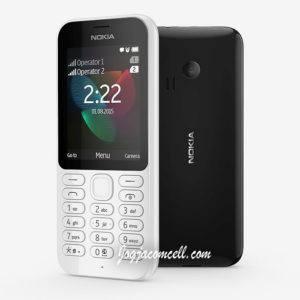 Nokia 222 Kamera