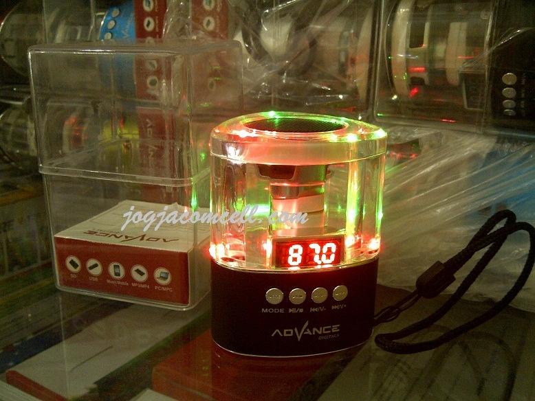 Speaker Transparan Cantik Advance A 17 JogjaComCell