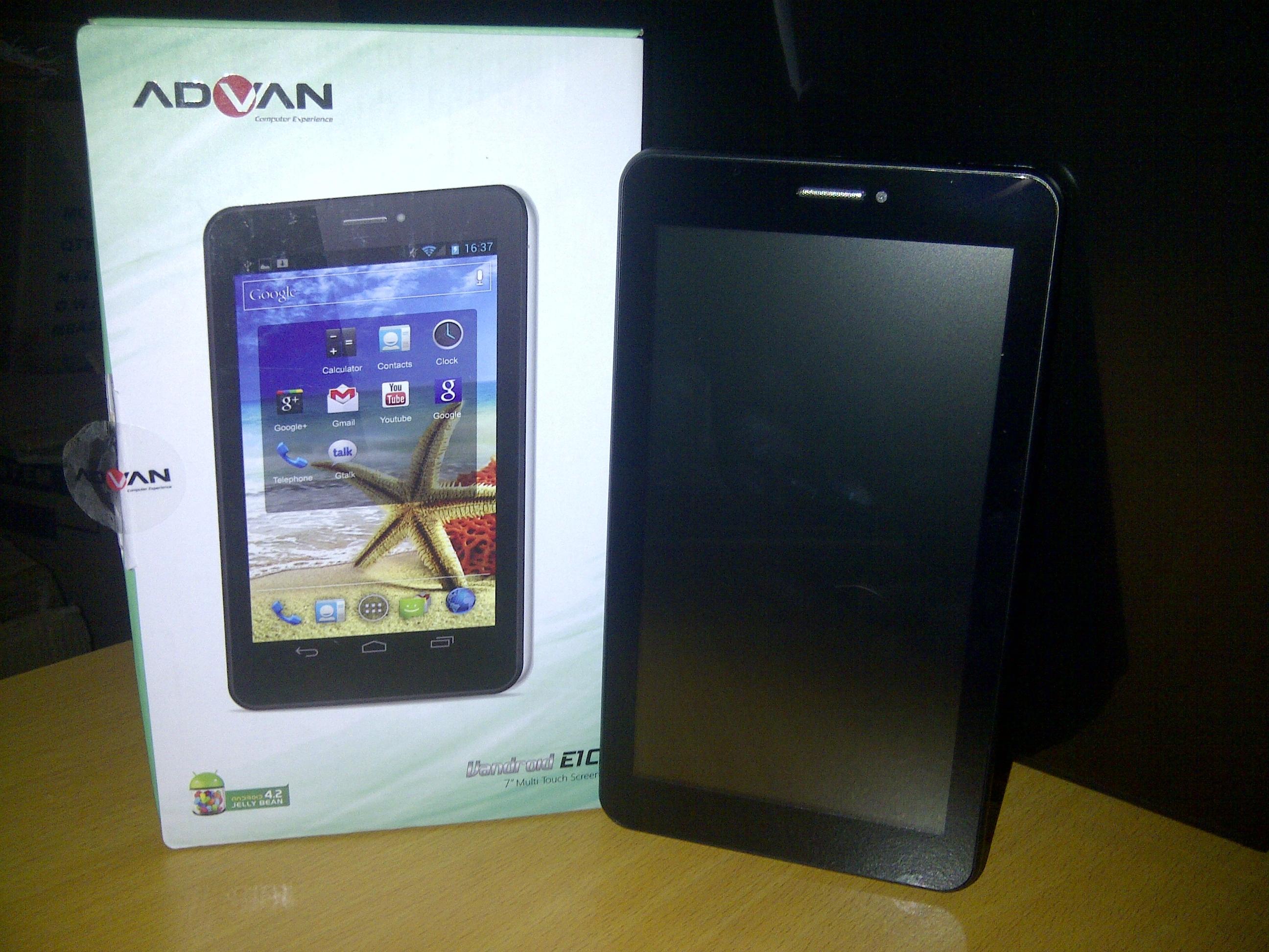 Advan E1C Tablet Murah Berkualitas JogjaComCell