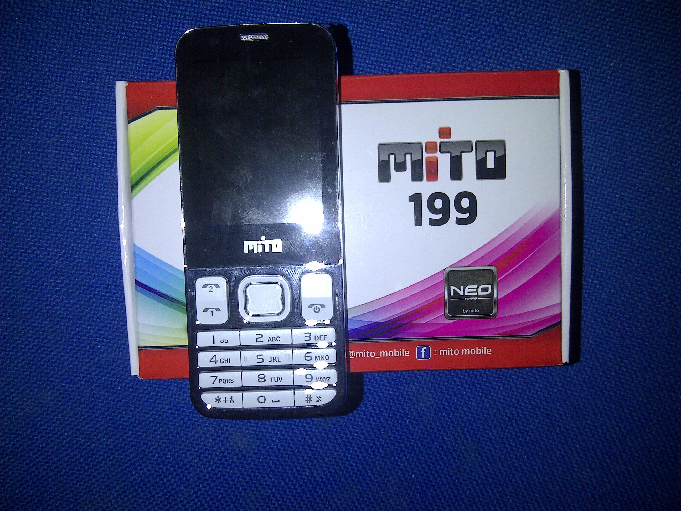 Mito 199 Untuk Pilihan Ponsel Dengan Harga Terjangkau Fitur Evercoss A7b