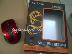 Mouse Wireless Advance tanpa kabel