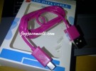 Kabel USB micro warna-warni