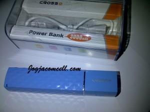 Power bank Cross 3000 mAh