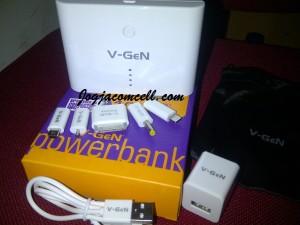 Power bank V-Gen 10400 mAh