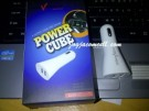 Advance Power cube charger mobil usb multi port