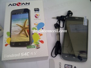 Advan S4C Dual SIM GSM Jelly Bean