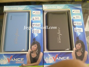 power bank advance 8800 new pack jc