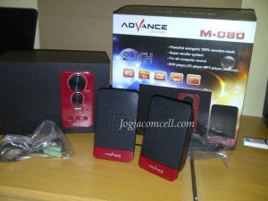 Speaker Advance M-080 2.1 Inch Subwoofer