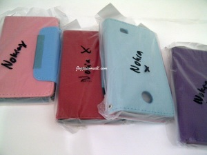 Softcase Wallet Nokia X