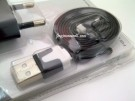 Charger Evercoss Original USB Flat Panjang