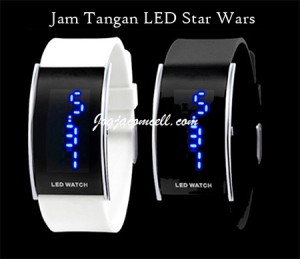 Jam Tangan LED Watch Star Wars