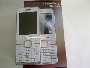 Handphone Strawberry Shotcake Dual SIM Super Slim