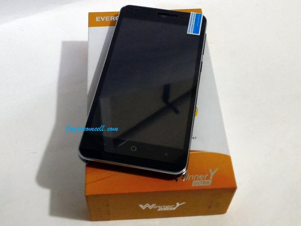 Evercoss A75A Winner Y Ultra RAM 2 GB 3G Dual GSM On