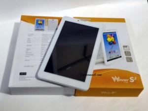 Evercoss AT7J Winner S2 Tablet Dual SIM RAM 512MB ROM 4GB