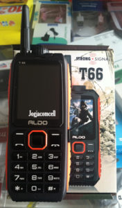 Aldo T66 Dual SIM 10000 mAh bisa Jadi Powerbank