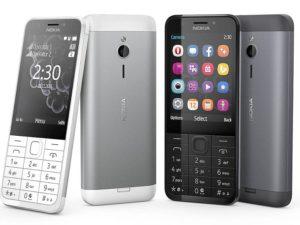 Nokia 230 Dual SIM Dual Kamera Support Kartu Memori s/d 32 GB
