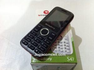 Handphone Murah Strawberry S47 Dual SIM Mirip Nokia 130 Dual SIM
