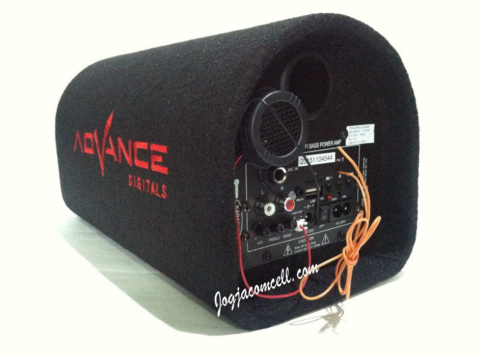 Jual Speaker Aktif Subwoofer Advance T 101BT Jogjacomcell