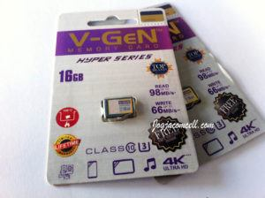 MicroSD VGen 16GB Hyper