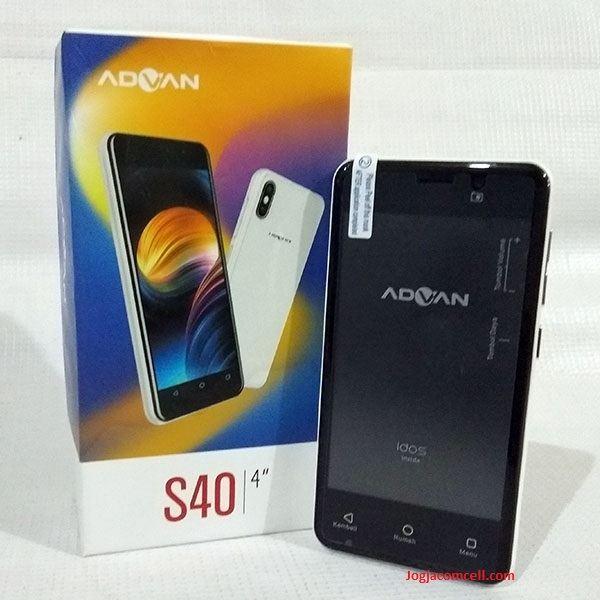 Advan S40 3G RAM 1GB – JogjaComCell.com | Toko Gadget Online Terpercaya - JogjaComCell.com | Toko Gadget Online Terpercaya