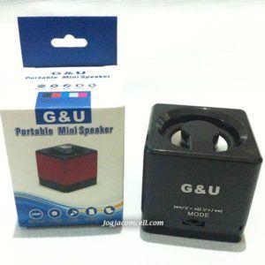 Speaker Aktif G & U Mini Speaker