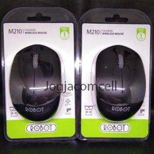 Mouse Robot M210 Wireless Free Battery GARANSI!!